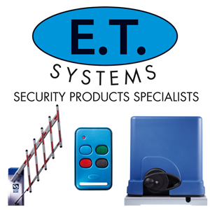 ET Systems electrical security equipment and accessories that can be supplied by WP Security in Cape Town