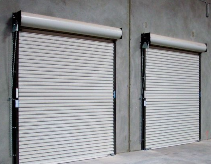 Industrial garage doors ensure security